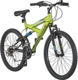 "Supercycle Nitrous 24"" Full Suspension Mountain Bike 