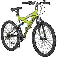 "Supercycle Nitrous 24"" Full Suspension Mountain Bike"