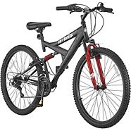 "Supercycle Nitrous 26"" Full Suspension Mountain Bike"