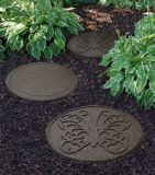 Multy Home Reversible Outdoor Rubber Butterfly Steppingstone, 18-in | Multy Home | Canadian Tire