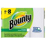 Bounty 6=8 Roll Paper Towel
