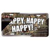 Duck Dynasty Max 4 Realtree Camo License Plate, Happy