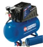 Campbell Hausfeld 2 Gallon Air Compressor and Inflator | Campbell Hausfeld