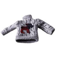CANVAS Red Knit Sweater Ornament Assorted