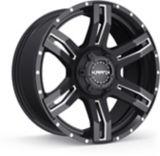 Krank Caliper Wheel, Gloss Black Milled | Krank | Canadian Tire