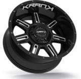 Krank Force Wheel, Gloss Black Milled   Krank   Canadian Tire