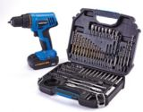 Mastercraft 20V Max Li-Ion Cordless Drill and 104-Piece Accessory Kit | Mastercraft