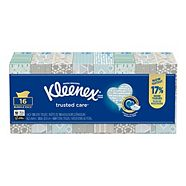 Kleenex Everyday Facial Tissue, 16-pk
