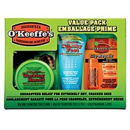 O'Keeffe's Gift Pack, 3-pk