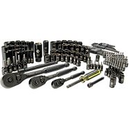 Stanley Socket Set, 150-pc & Wrench Set, 36-pc