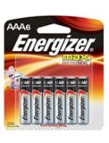 Piles alcalines Energizer Max AAA, paq. 6 | Energizer