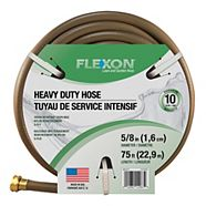Flexon 5/8-in Heavy Duty Hose, 75-ft
