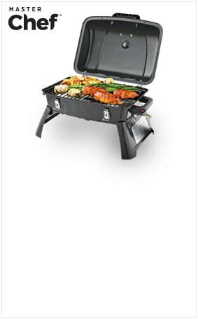 Master Chef® Portable Gas BBQ