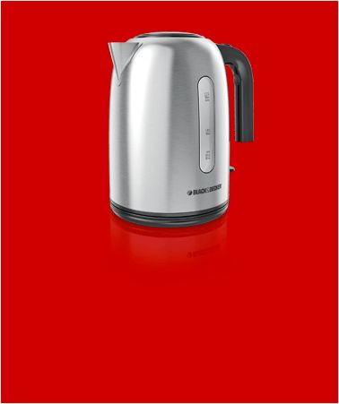 Black & Decker Kitchen Tools Stainless Steel Cordless Kettle