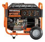 Generac 7500W Gas Generator