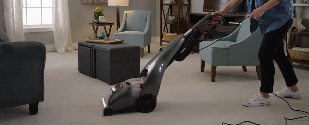 Watch a short video and read a step-by-step guide on how to choose a carpet cleaner.. Play video
