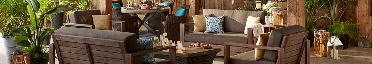GET DECKED OUT WITH NEW PATIO FURNITURE