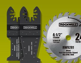 Accessoires pour outils Rockwell