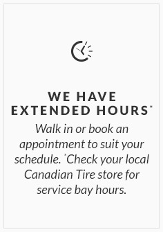 We have extended hours