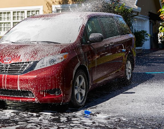 Wash away winter with the right products to help you get your vehicle thoroughly clean, inside and out.