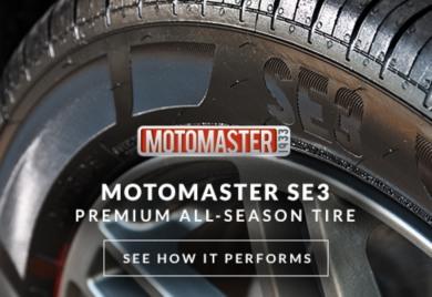 MotoMaster SE3 Premium All-Season Tire