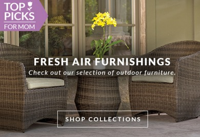 Check out our selection of outdoor furniture.