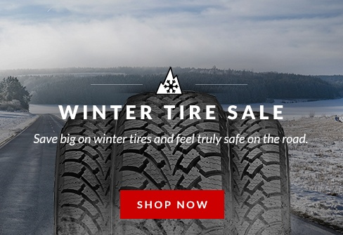 Save up to 25% on selected winter tires