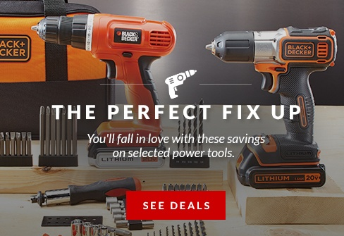 Get GREAT savings on selected power tools