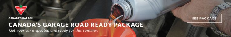 Canada's Garage Road Ready Package