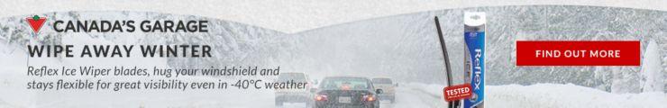 Canada's Garage: Reflex Ice Wiper Blades