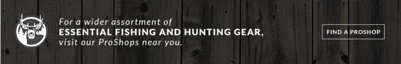 Everything the avid hunter and angler needs