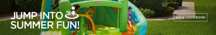 Jump into Summer fun! Turn your backyard into a playground packed with tons of fun