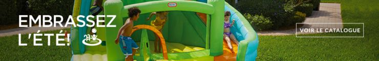Embrassez l'été! Transformez votre jardin en terrain de jeux pour des heures de plaisir.
