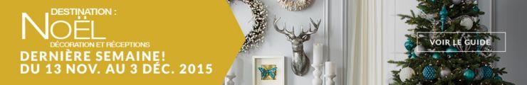 Destination : décoration et divertissement de Noël - DERNIÈRE SEMAINE, événement de 3 semaines! Du 13 novembre au 3 décembre 2015