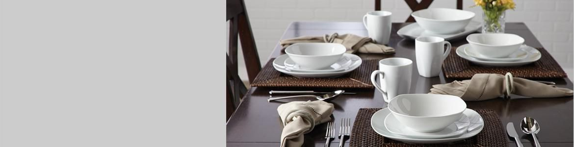 SAVE UP TO 65% on all selected CANVAS dinnerware