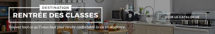 Trouvez tout ce que vous voulez pour la cuisine, la salle de séjour et la chambre et créez un lieu de vie organisé et tout en style.