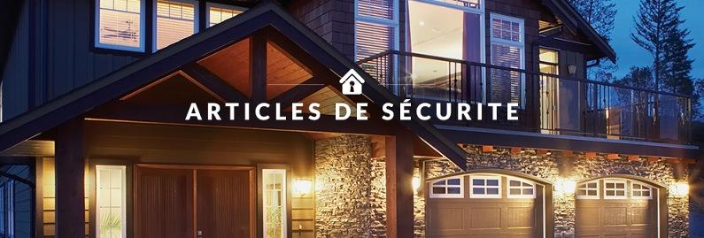 Articles de sécurite