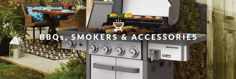 BBQ, Smokers & Accessories