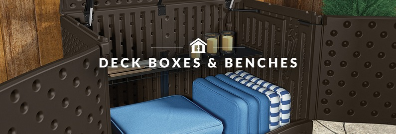 Deck Boxes & Benches