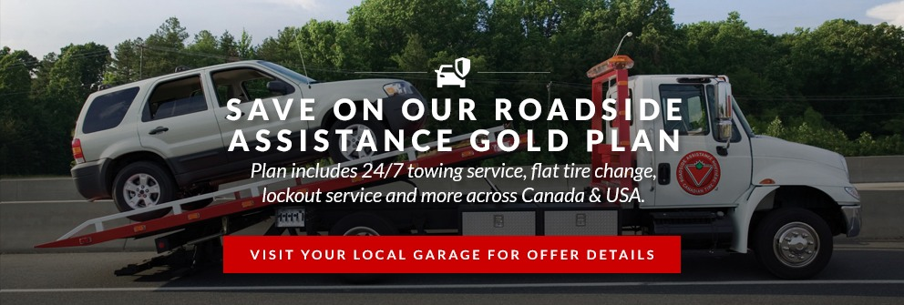 Save on Our Roadside Assistance Gold Plan