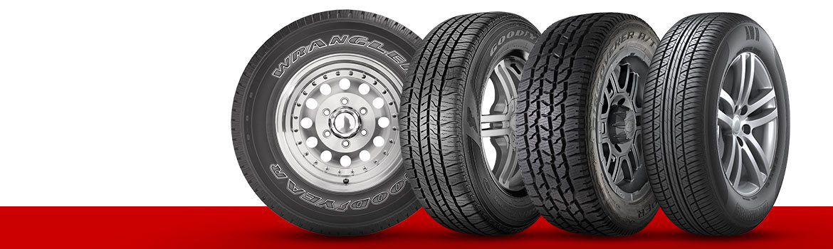 Save up to 25% on select tires