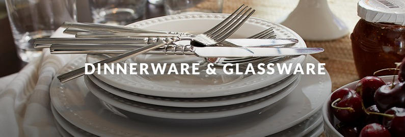 Dinnerware & Glassware products that bring style to any tabletop