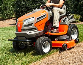 HUSQVARNA LAWN TRACTORS, PARTS & ATTACHMENTS