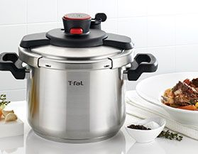 T-FAL PRESSURE COOKERS