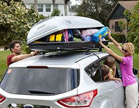 THULE ROOF CARGO BOXES
