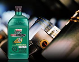 Shop Castrol High Mileage Engine Oil