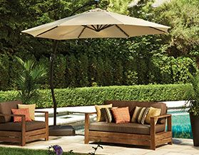 All Offset Patio Umbrellas
