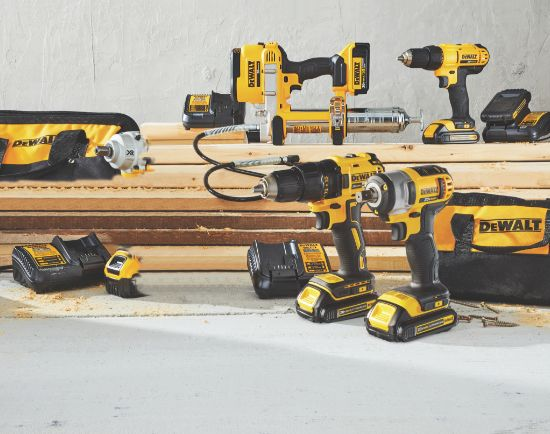 DEWALT IMPACT DRIVERS & IMPACT WRENCHES