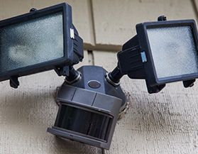 Motion Sensors & Security Lights
