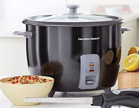LARGE RICE COOKERS: 16 CUPS OR MORE